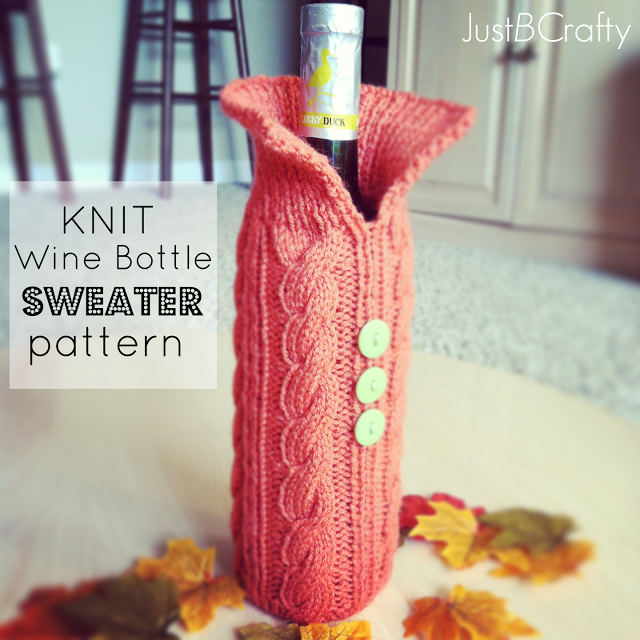 Knit Your Wine Bottle A Sweater