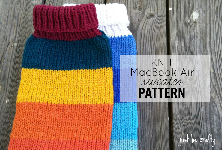 Knit MacBook Sweater Pattern