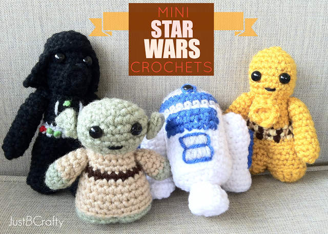 DIY Toys: Mini Star Wars Crochets