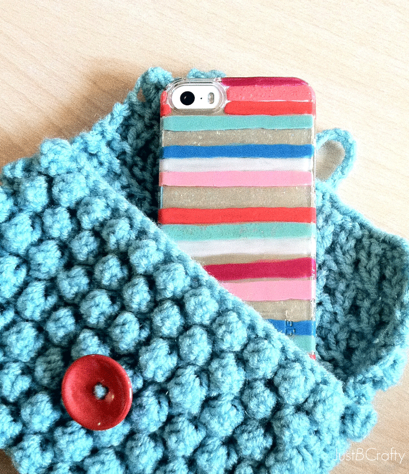 DIY Painted iPhone 5s Case