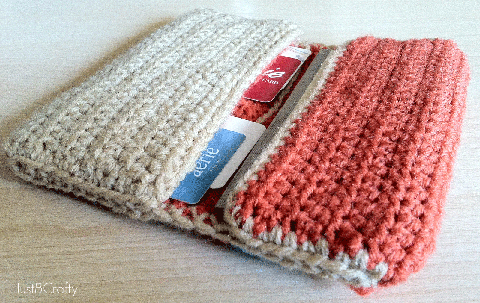Crochet Wallet Tutorial - Just Be Crafty