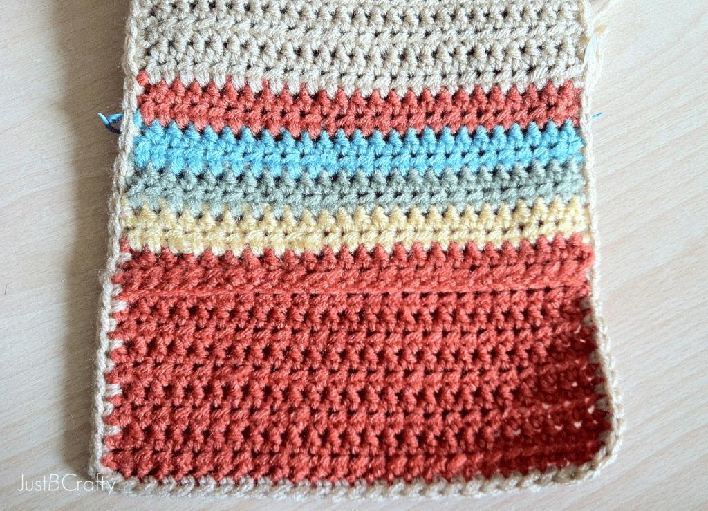 Crochet Wallet Tutorial Just Be Crafty