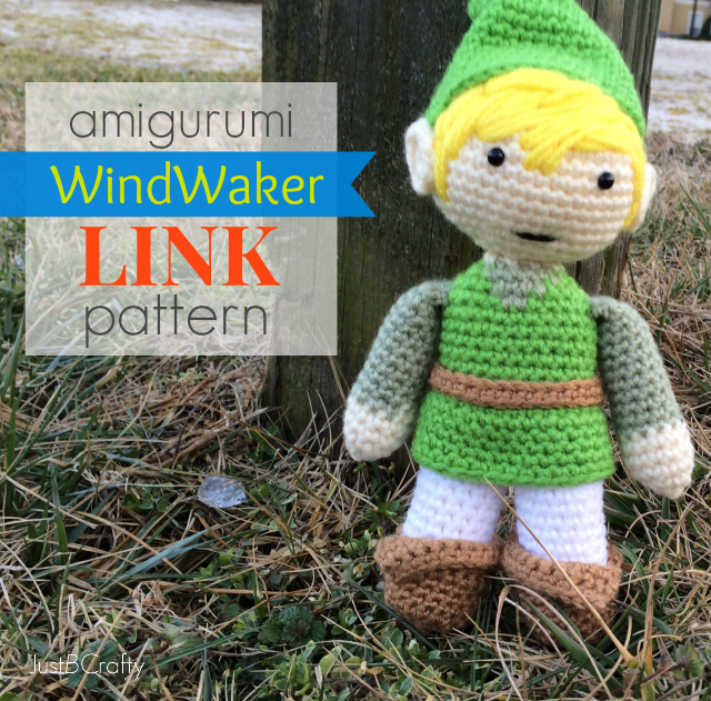 Make Your Own Amigurumi Link, Wind Waker Style!