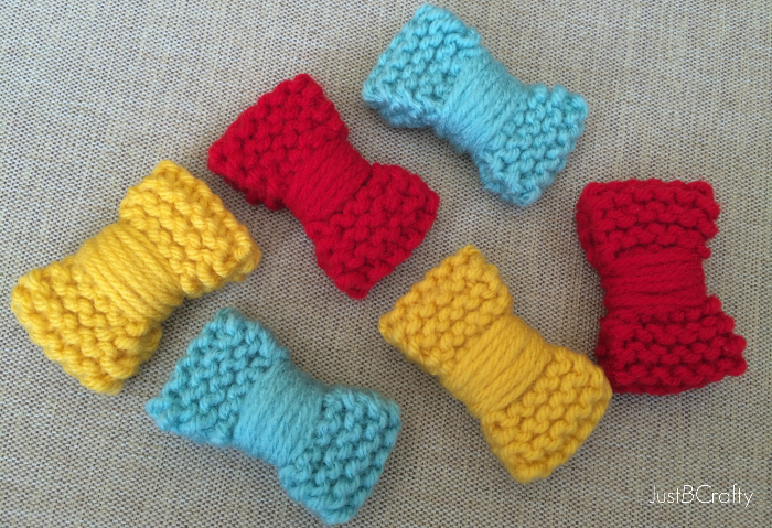 The Disney Inspired Knit Mini Bow Just Be Crafty