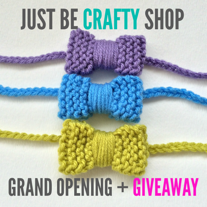 The Just Be Crafty Shop Grand Opening + Giveaway!!