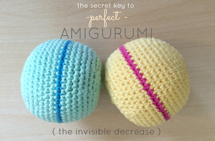 The Secret To Perfect Amigurumi + Crochet Ball Pattern