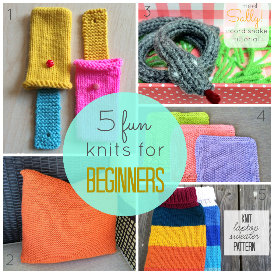 5 Fun Knits for Beginners