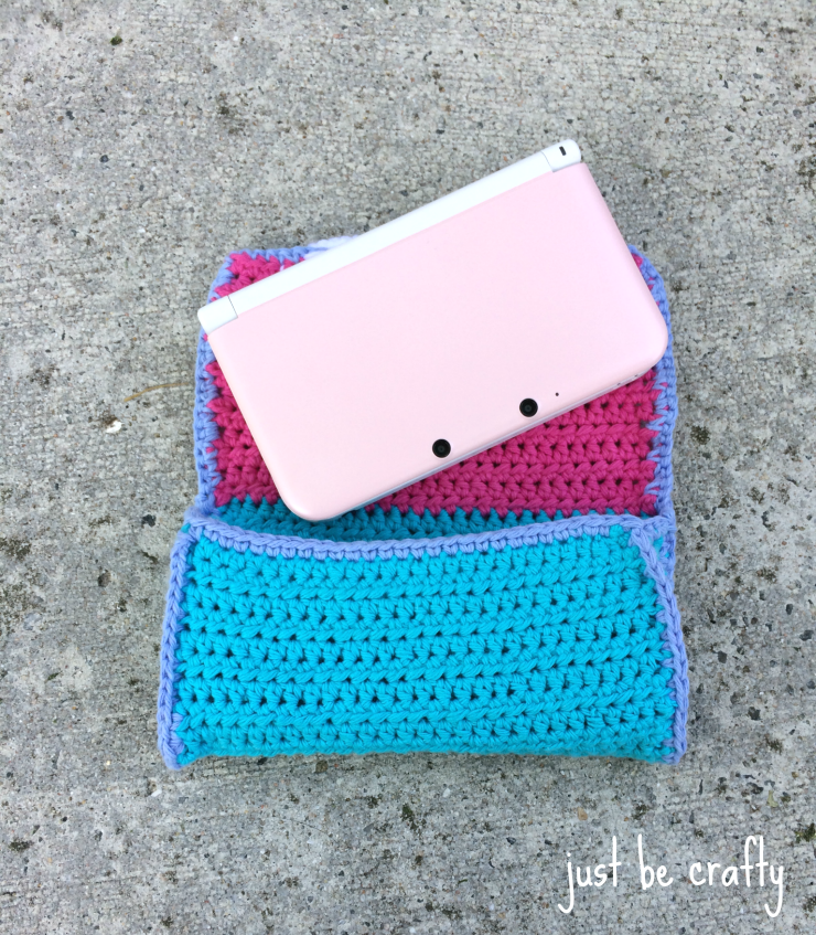 3ds crochet case