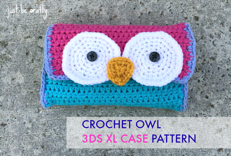 Crochet Owl 3DS XL Case Pattern