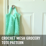 Crochet Mesh Grocery Tote