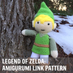 Zelda Game Link Pattern