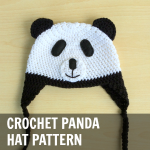 Crochet Panda Hat Pattern