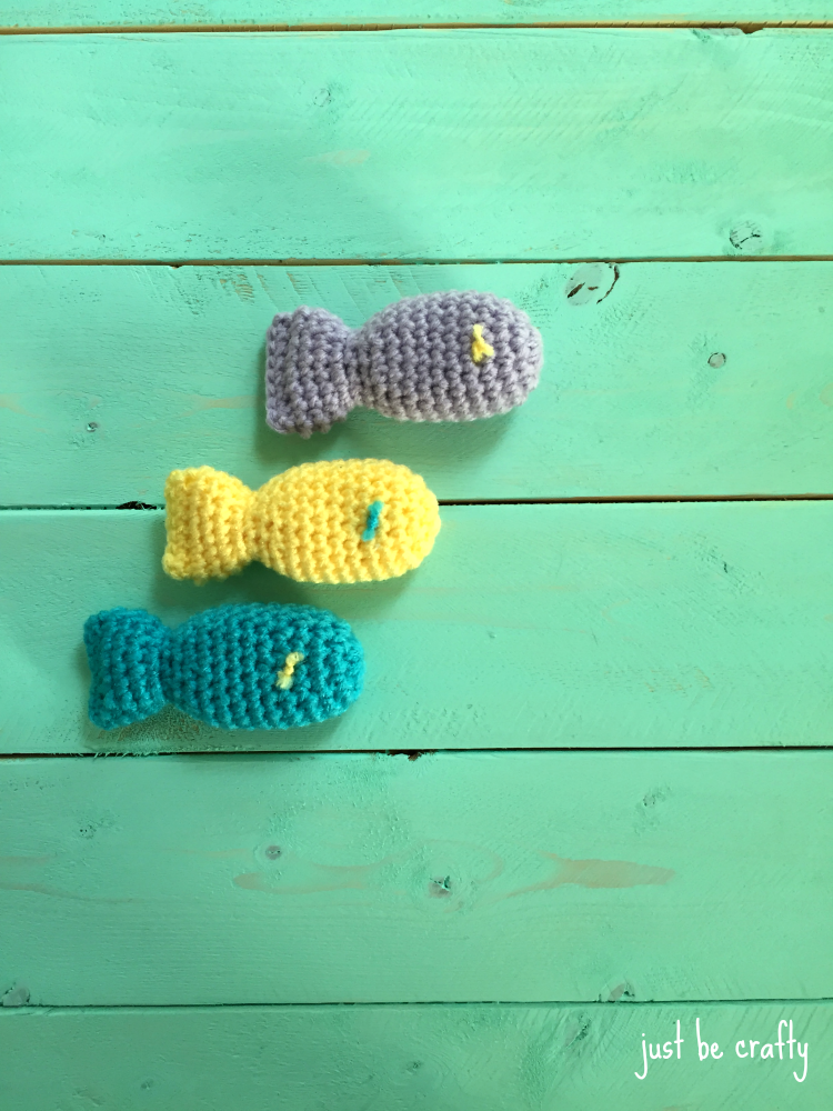 Crochet Fish Cat Toy Pattern With Catnip Just Be Crafty