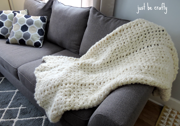 Easy Crochet Angel Cloud Afghan Just Be Crafty