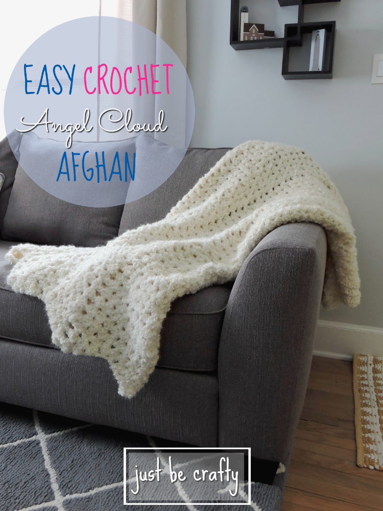 Easy Crochet Angel Cloud Afghan