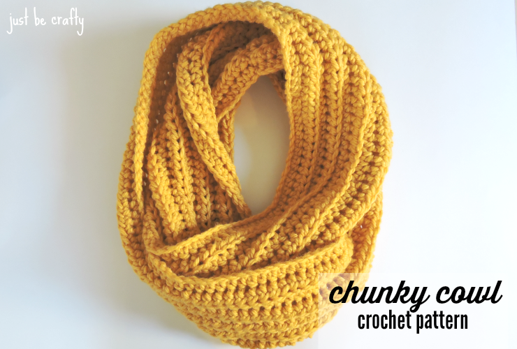 Chunky Crochet Cowl Pattern Free Pattern By Just Be Crafty