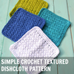 Crochet Textured Dishcloth