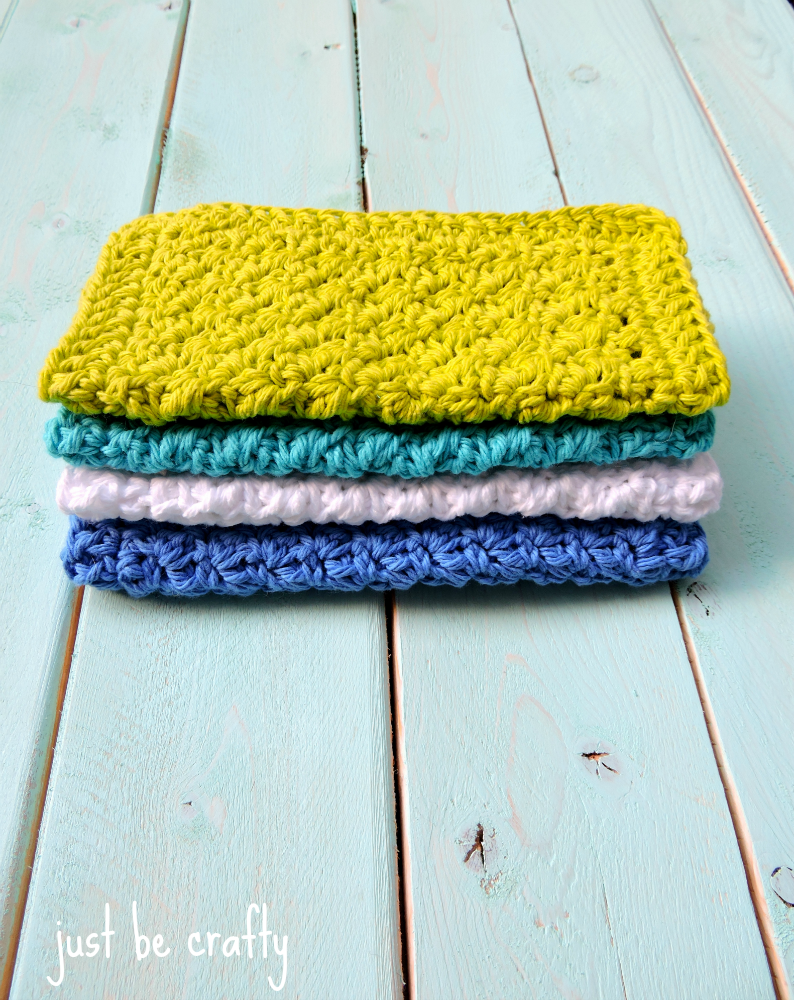 Textured Dishcloth simple