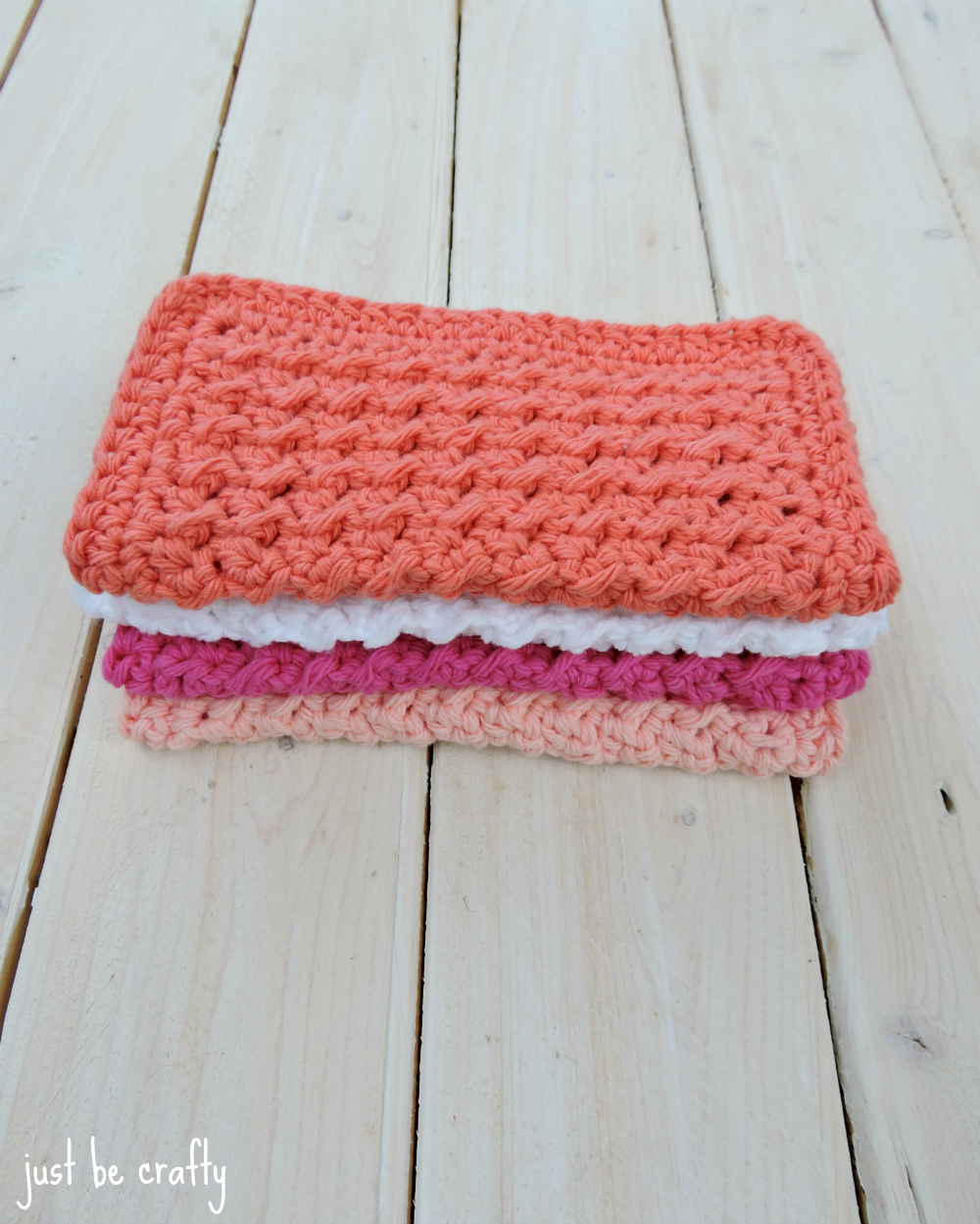 Crochet Cabin Dishcloths