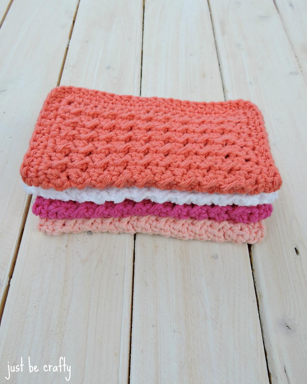Crochet Cabin Dishcloths