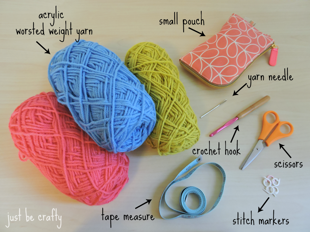 Just Be Crafty How to crochet series!