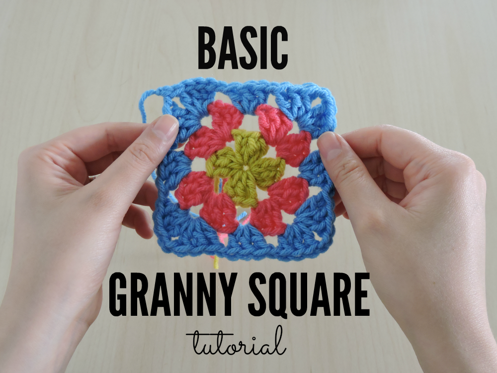 Tutorial Tuesday The Basic Granny Square Just Be Crafty
