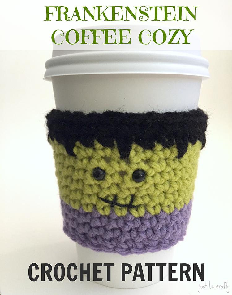 Crochet Frankenstein Cozy Pattern