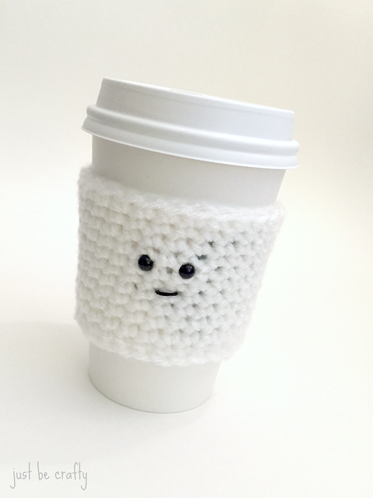 Ghost Coffee Cozy Pattern