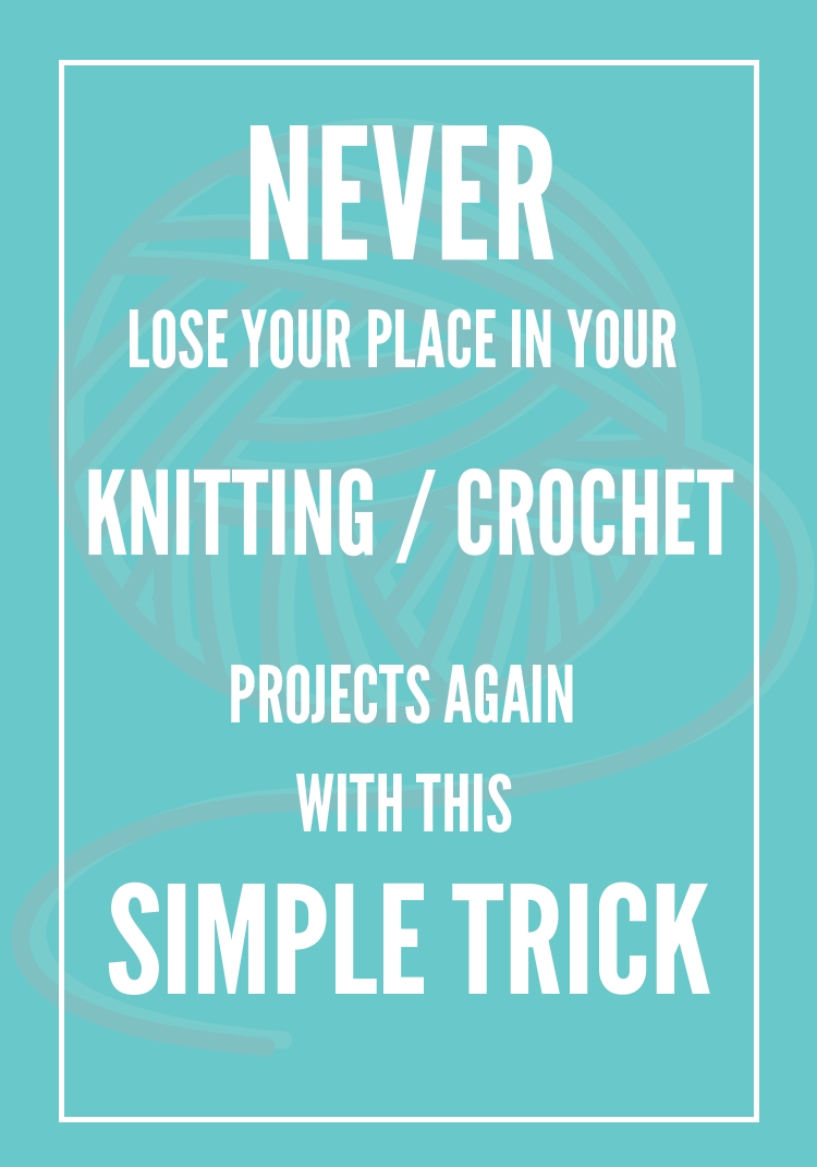 Crochet Row Tracker