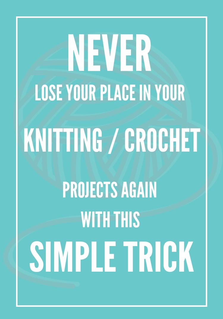 Crochet Row Tracker