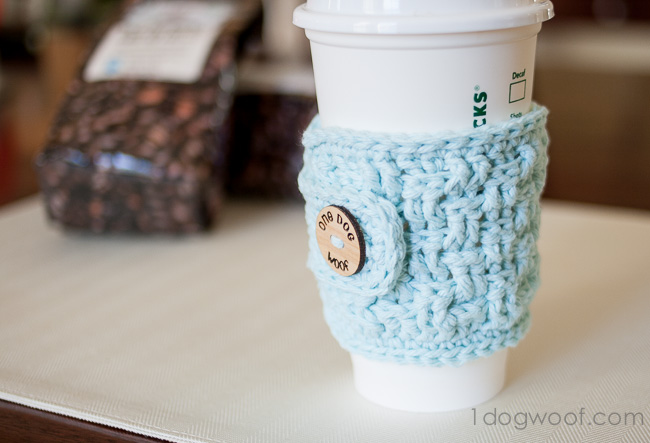 Free Crochet Coffee Cozy Pattern