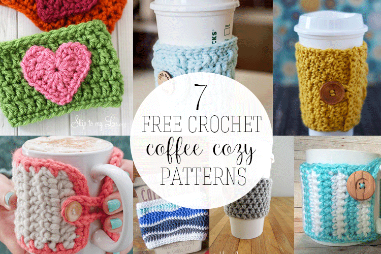 Free Crochet Coffee Cozy Patterns