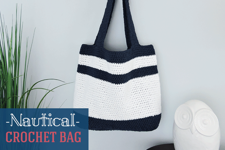 Nautical Crochet Bag Pattern
