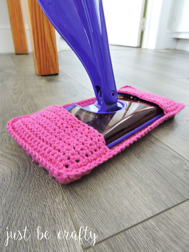 Crochet Swiffer Pad Pattern by Just Be Crafty