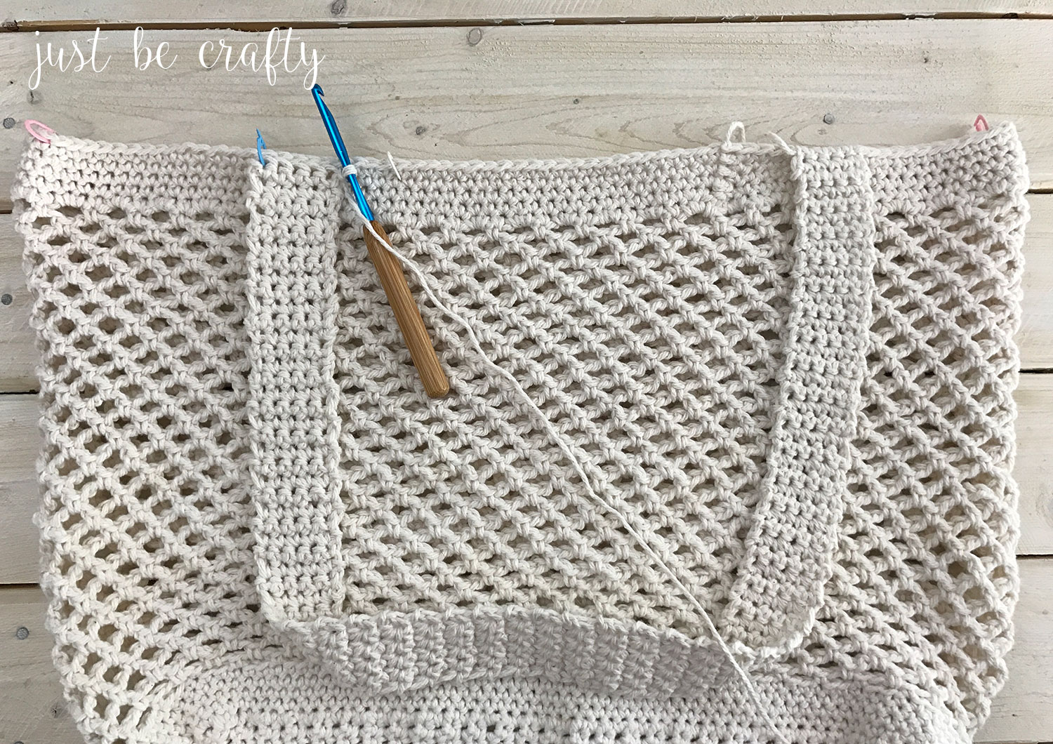 Crochet Farmers Market Bag Pattern Free Pattern By Just Be Crafty