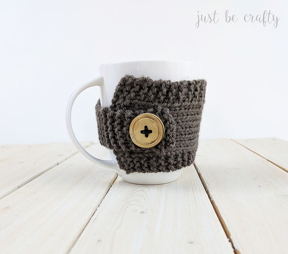 Knitted Coffee Mug Cozy Pattern