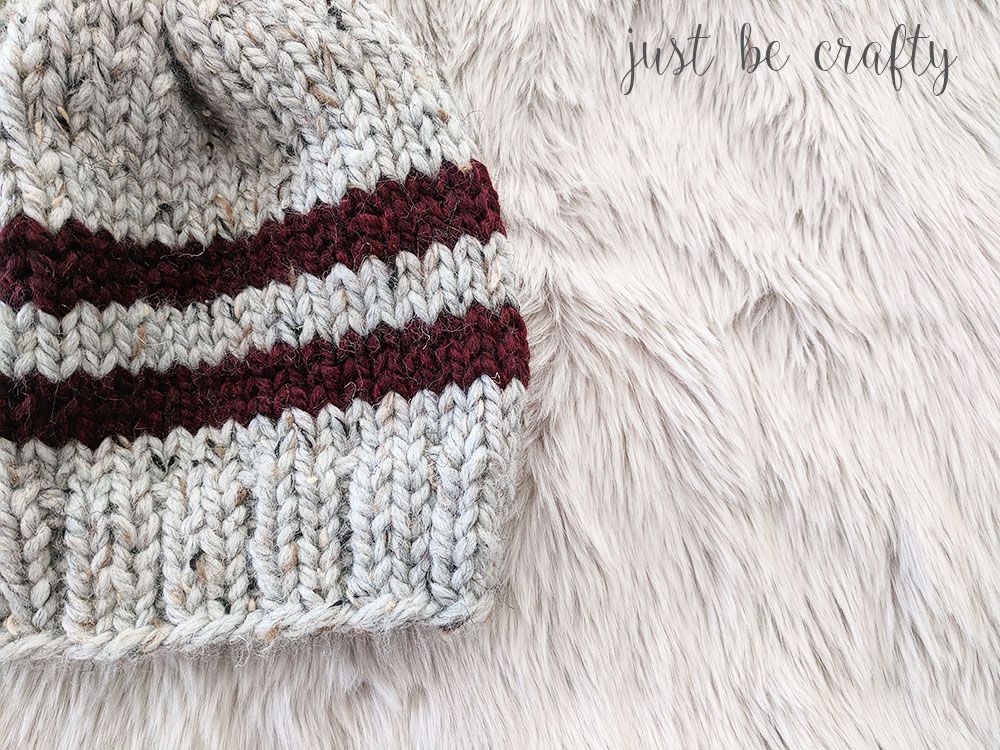 Lake Erie Chunky Ski Hat Pattern
