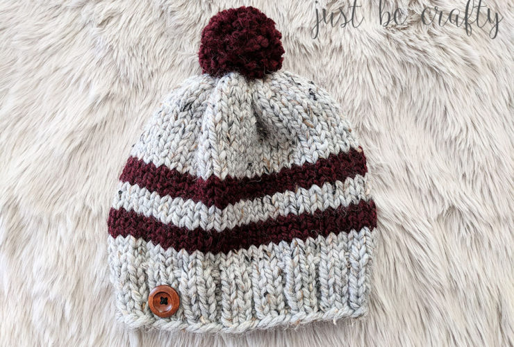 The Lake Erie Chunky Ski Hat Pattern