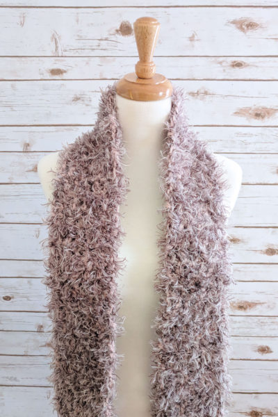 Romantic Neutral Scarf Pattern