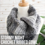 Stormy Night Crochet Cowl Pattern