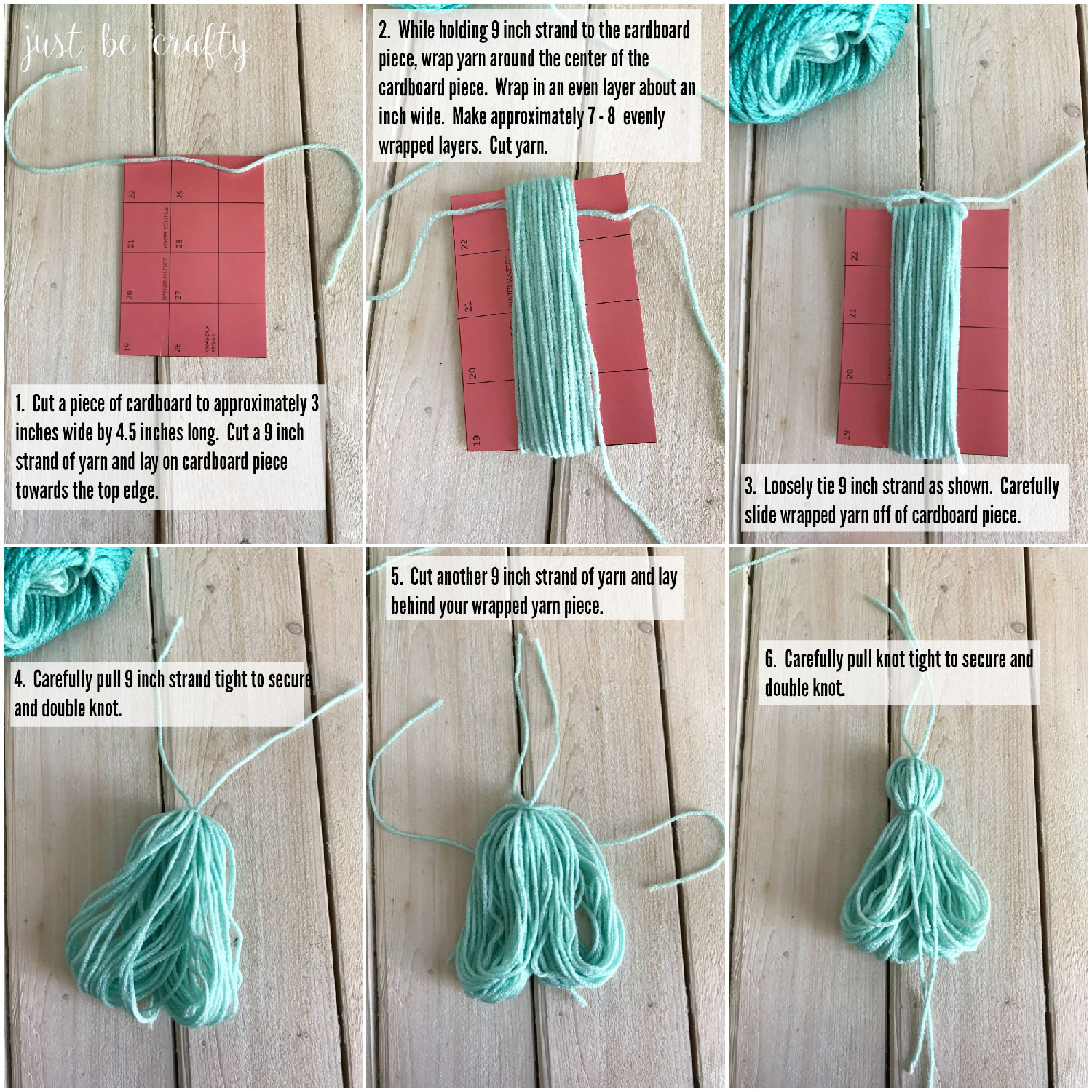 Yarn Tassel Tutorial