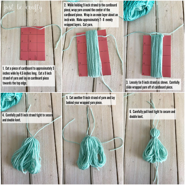 Yarn Tassel Tutorial