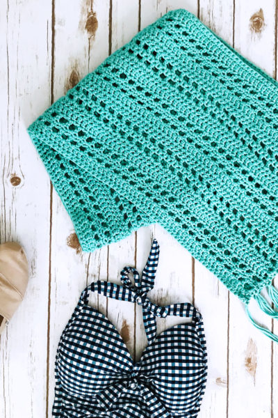 Sunset Beach Wrap Crochet Pattern