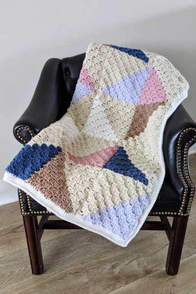 Crochet Afghan Quilt Series Part 3: Making the Border and Weaving in Ends
