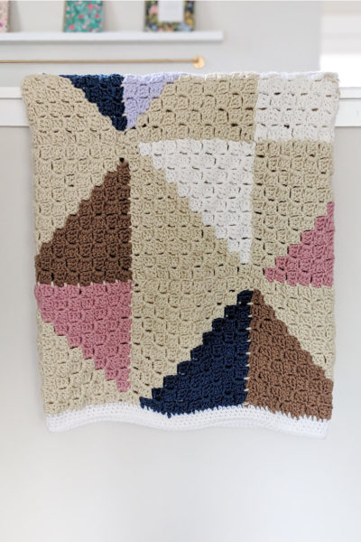 Crochet Afghan Quilt Series Part 1: C2C Square Tutorial
