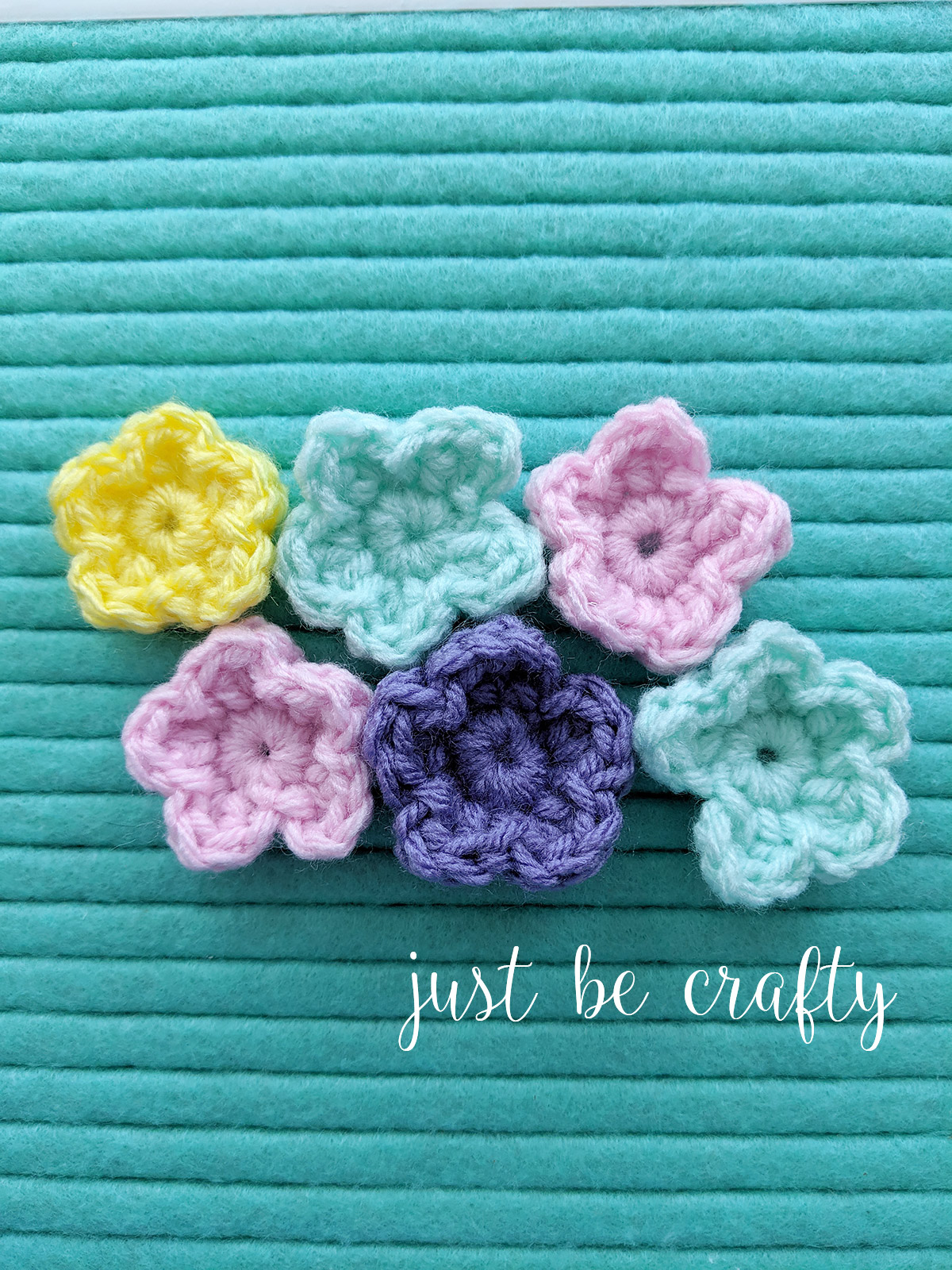 Crochet Wild Flower Pattern