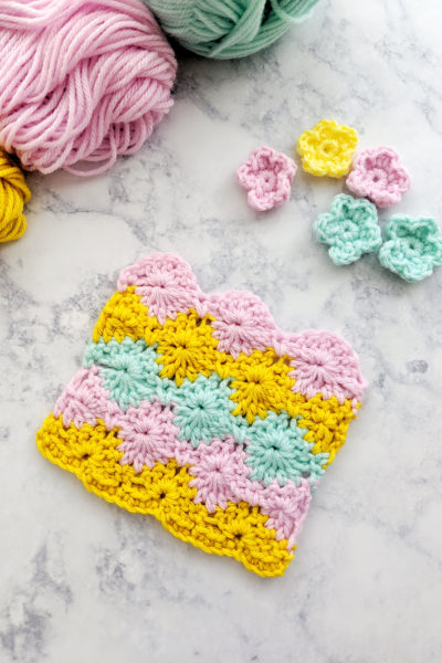 How to Crochet the Harlequin Stitch + Video Tutorial