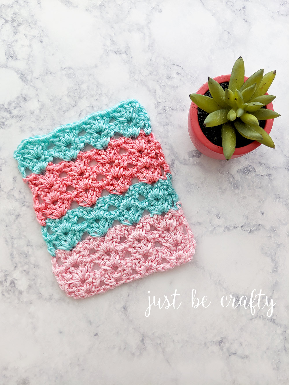 Crochet Iris Stitch Tutorial