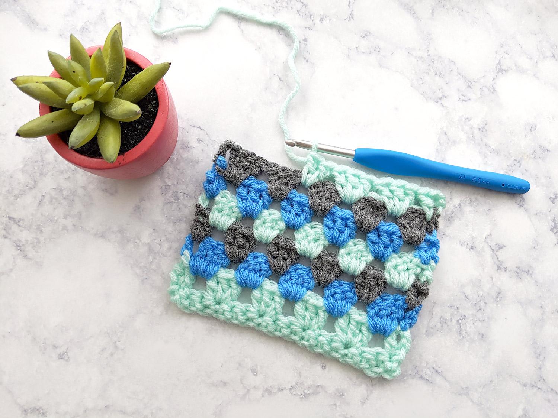 Granny Ripple Stitch Tutorial: Learn To Crochet The Granny Ripple Stitch