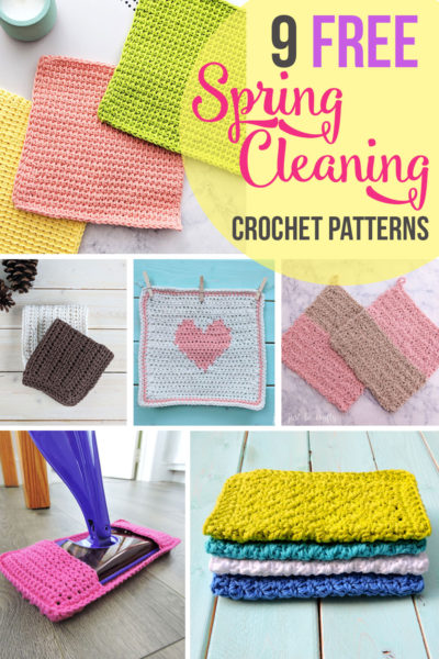 9 Crochet Patterns to Get You Pumped for Spring Cleaning